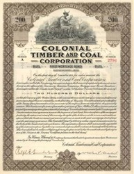 Colonial Timber and Coal Corporation - 1919