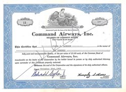 Command Airways, Inc. ( Acqured by American Eagle )