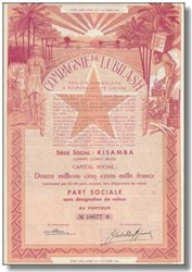 Compagnie Du Lubilash , Congo 1944