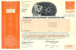 Combustion Equipment Associates, Inc. 1970's