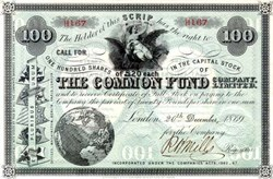 Common Fund Company, Ltd. - London 1869