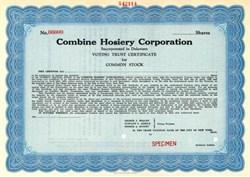 Combine Hosiery Corporation