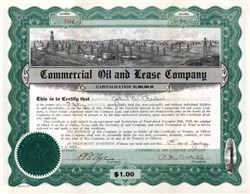 Commercial Oil and Lease Company 1920 - Dallas, Texas