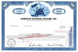Computer Retrieval Systems, Inc.