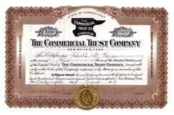 Commercial Trust Company 1930 - New Britain, Connecticut