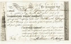 Commercial Wharf Co. 1873 Boston, Massachusettes