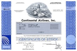 Continental Airlines, Inc. (Merged with United Airlines - No longer public)