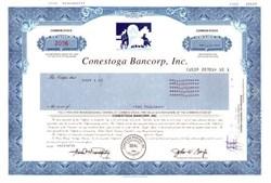 Conestoga Bancorp, Inc.