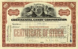 Continental Candy Corporation 1921