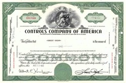 Controls Company of America ( Acquired by Singer Company )