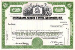 Continental Copper & Steel Industries, Inc. ( Now CCX Inc )