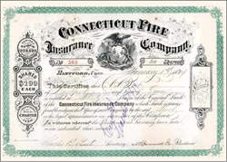 Connecticut Fire Insurance Company 1877