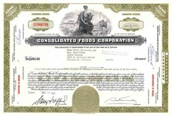 Consolidated Foods Corporation ( Now Sara Lee Corporation )
