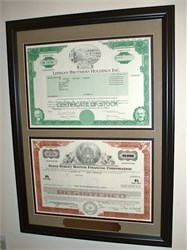 "Contemporary Frame - Two Certificates ( Frame Size 15 3/4"" x 21 3/4"" )"