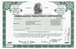 Consolidated Freightways Corporation