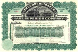 Consolidated Lake Superior Company 1904