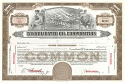 Consolidated Oil Corporation ( Early Sinclair Oil Company )