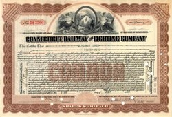 Connecticut Railway and Lighting Company 1928