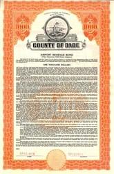 County of Dade Airport Revenue Bond - Florida 1946