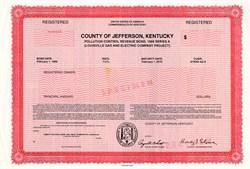 County of Jefferson, Kentucky - 1989