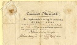 Massachusetts Society for Promoting Agriculture - 1793