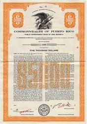 Commonwealth of Puerto Rico - Puerto Rico 1969