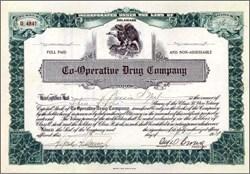 Co-Operative Drug Company 1921