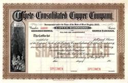 Copete Consolidated Copper Company 191X