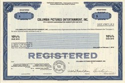 Columbia Pictures Entertainment - Delaware 1998