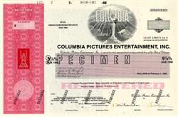 Columbia Pictures Entertainment, Inc. - Delaware 1988