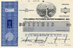 Columbia Pictures Entertainment, Inc. - Delaware 1988