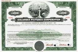 Columbia Pictures Industries, Inc. Convertible Debt Specimen - Delaware  1967