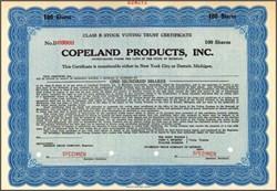 Copeland Products, Inc. (Copeland Corporation)