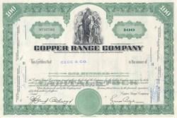Copper Range Company - 1960's