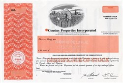 Cousins Properties Incorporated - Georgia