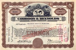 Corroon & Reynolds Insurance  - 1937 (Now Willis Group Limited )