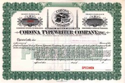 Corona Typewriter Company