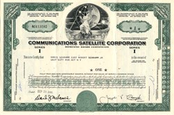 Communications Satellite Corporation (COMSAT) - 1974