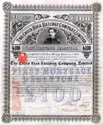 Costa Rica Railway Company Limited 1889