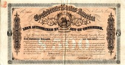 Confederate States of America (Confederate Seal - Soldier on Horseback) - Ball # 329 dated March 1864