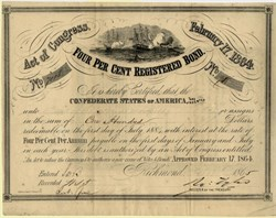 Confederate States of America - Sea Battle Ironclad Vignette - August 30, 1864 - Ball 286