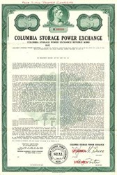 Columbia Storage Power Exchange - Washington 1972