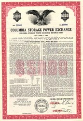 Columbia Storage Power Exchange - Washington 1964
