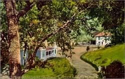 Cottage and Hotel Sonoma California Postcard