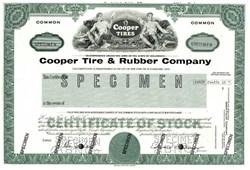 Cooper Tire & Rubber Company - Specimen 1981