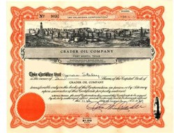 Crader Oil Company 1940s