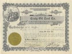 Craig Oil Tool Company 1923
