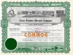 Crary Farmers Elevator Company 1940's