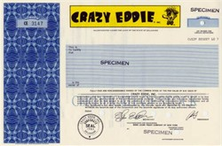 Crazy Eddie, Inc.  ( Famous electronics chain store )