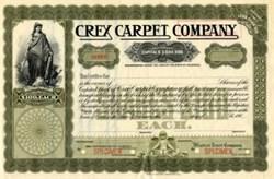 Crex Carpet Company - Delaware 1908
